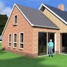 nieuwbouw woning eelde totaal overzicht ontwerp