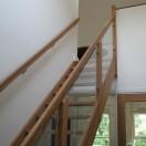 Binnenkant nieuwbouw woning Eelde trap