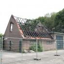 Schuur verbrand Veenhuizen